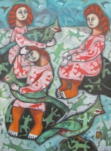 Turbaned Trio