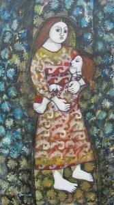 Flower Print Madonna