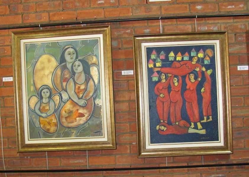 Angelic Images (70cm x 90) ...... Scarlet Sisterhood (65cm x 85)