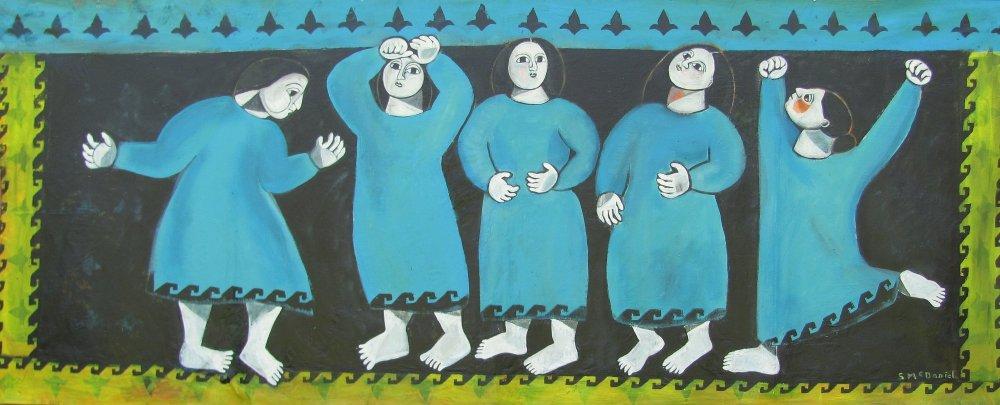 003 Art IMG 0176 Turquoise Tunics (325cm x 130)